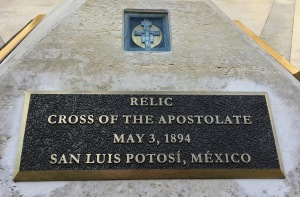 SIGN-RELIC CROSS OF THE APOSTOLATE