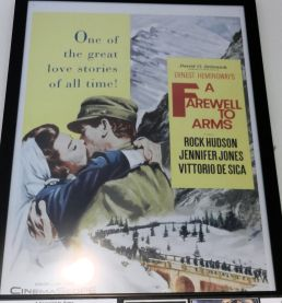 movie poster for A FAREWELL TO ARMS