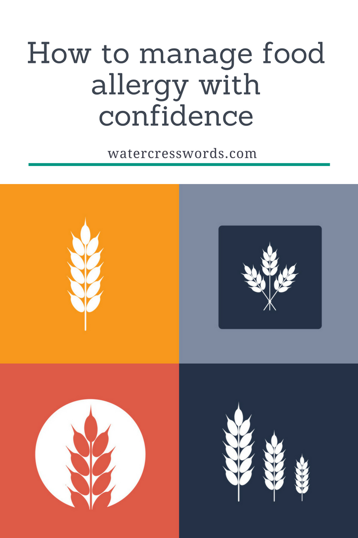 How to manage food allergy with confidence-watercresswords.com