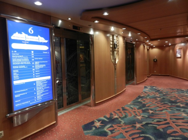 elevators on a ship