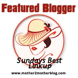 Featured Blogger-Sundays Beat Linkup -www.mother2motherblog.com