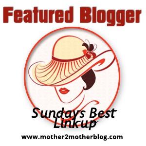 Featured Blogger-Sundays Beat Linkup -www.mother2motherblog.com