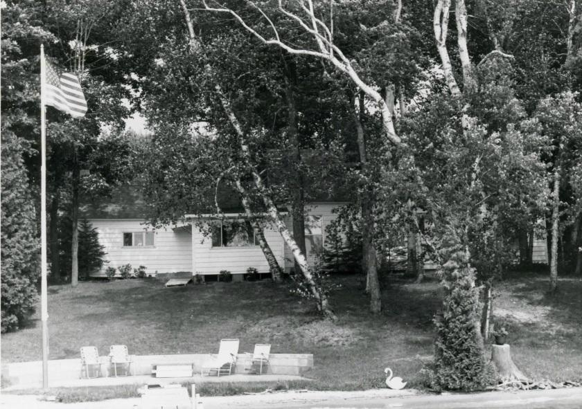 Ernest Hemingway cottage on Walloon Lake, Michigan