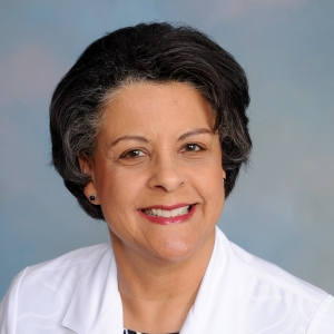 a woman, Dr. Aletha Oglesby