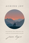 a book cover- Aching Joy