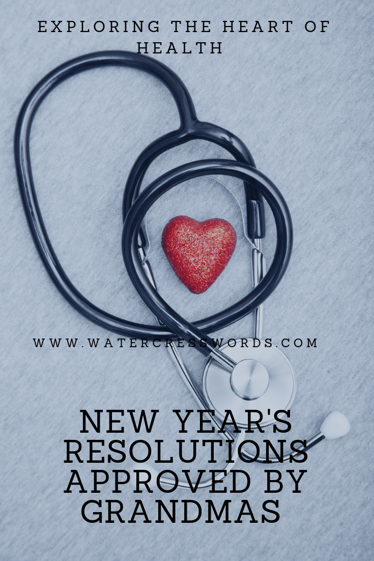 New Year's resolutions approved by grandmas