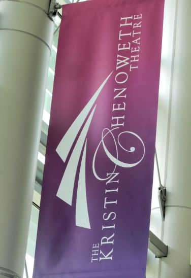 a banner-The Kristin Chenoweth Theatre
