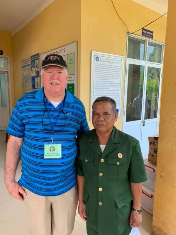 an American veteran and a North Vietnamese veteran