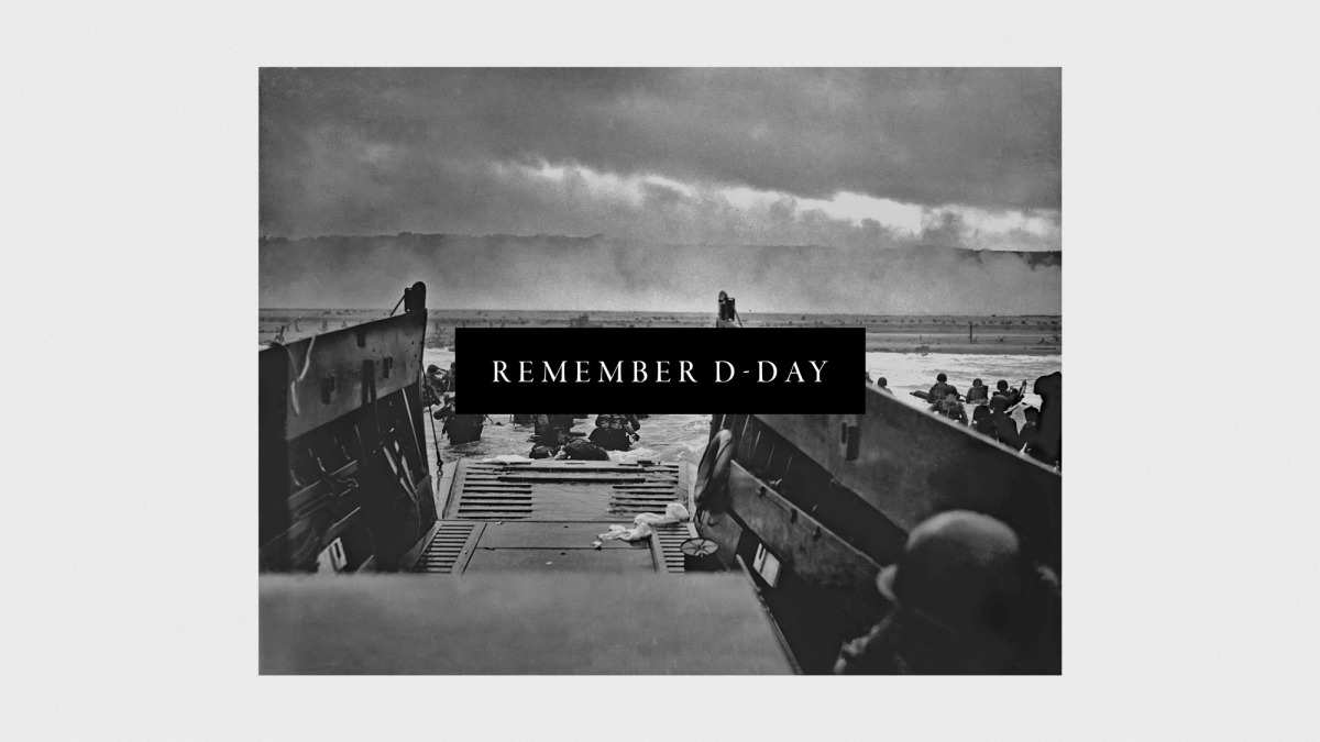 A son remembers, a nation mourns on D-Day