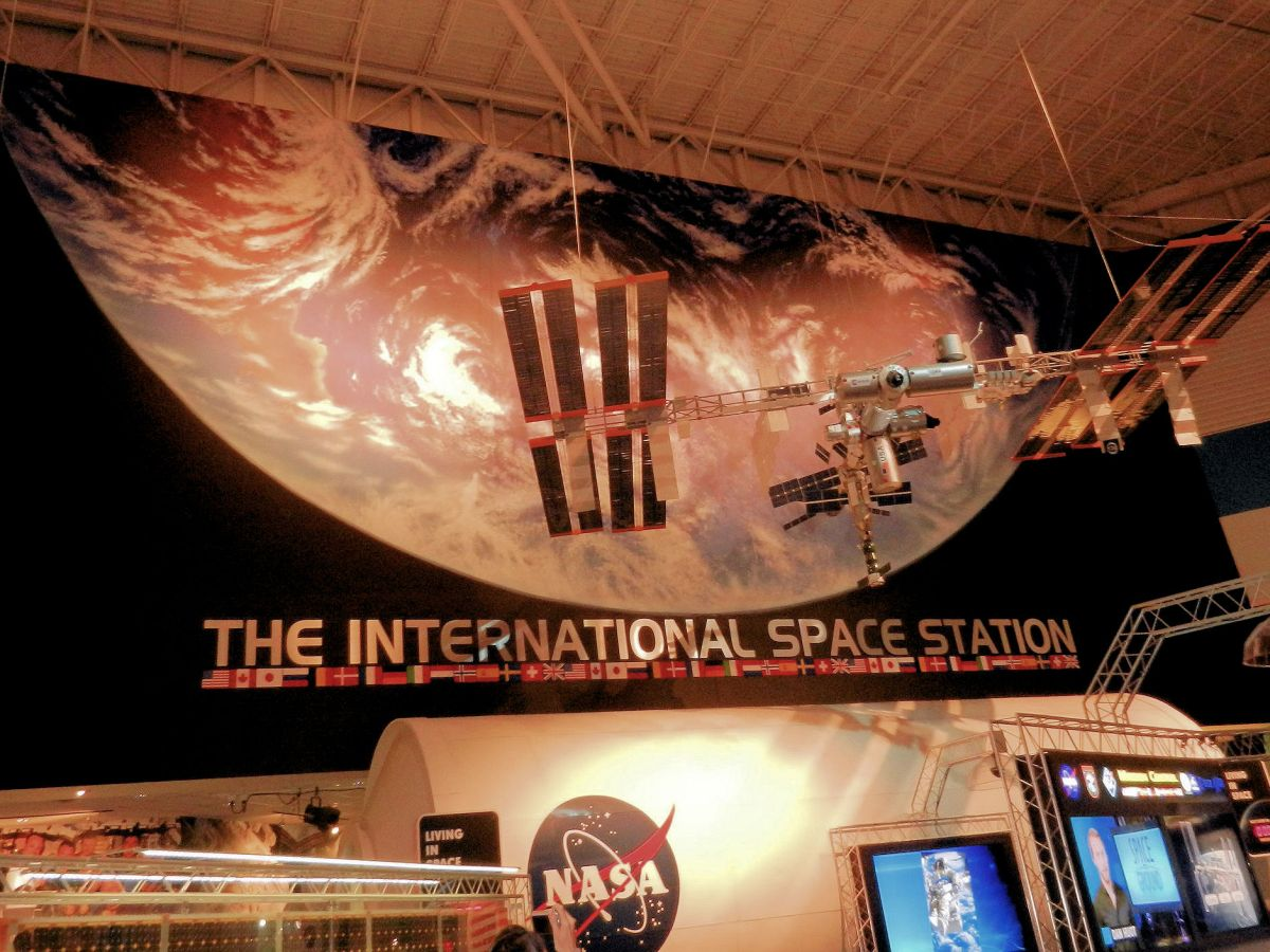 The International Space Station exhibit at Johnson Space Center