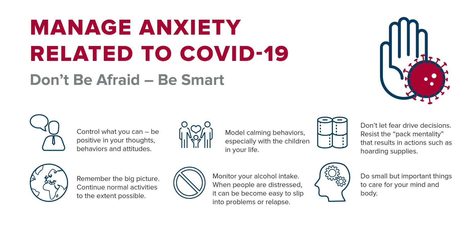 MANAGE ANXIETY-DON'T BE AFRAID-BE SMART