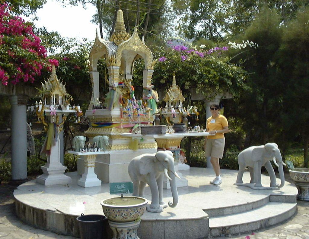 an ornate shrine in Thailand